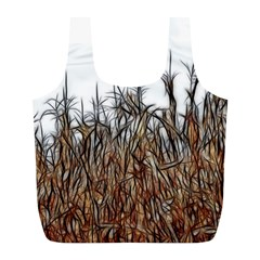 Abstract of a Cornfield Reusable Bag (L)
