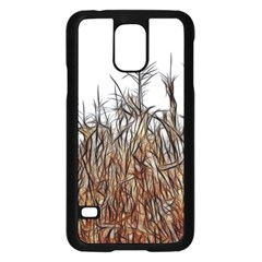 Abstract of a Cornfield Samsung Galaxy S5 Case (Black)