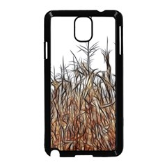 Abstract Of A Cornfield Samsung Galaxy Note 3 Neo Hardshell Case (black)