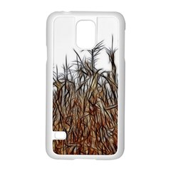Abstract of a Cornfield Samsung Galaxy S5 Case (White)