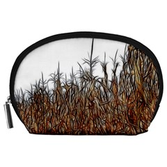 Abstract of a Cornfield Accessory Pouch (Large)