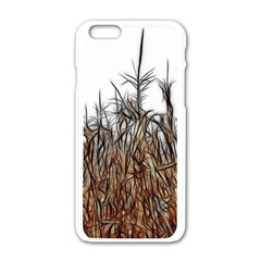 Abstract Of A Cornfield Apple Iphone 6 White Enamel Case