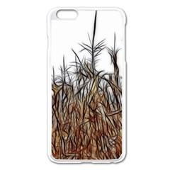 Abstract of a Cornfield Apple iPhone 6 Plus Enamel White Case