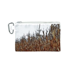 Abstract Of A Cornfield Canvas Cosmetic Bag (small)