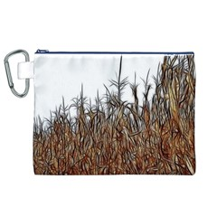 Abstract of a Cornfield Canvas Cosmetic Bag (XL)