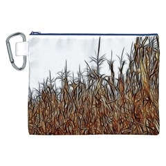 Abstract of a Cornfield Canvas Cosmetic Bag (XXL)