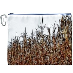 Abstract Of A Cornfield Canvas Cosmetic Bag (xxxl)