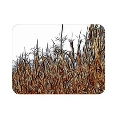 Abstract Of A Cornfield Double Sided Flano Blanket (mini)