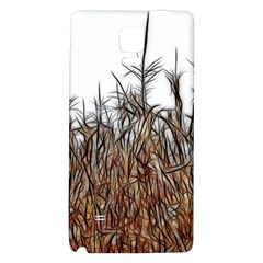 Abstract Of A Cornfield Samsung Note 4 Hardshell Back Case