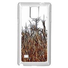 Abstract of a Cornfield Samsung Galaxy Note 4 Case (White)