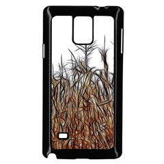 Abstract of a Cornfield Samsung Galaxy Note 4 Case (Black)