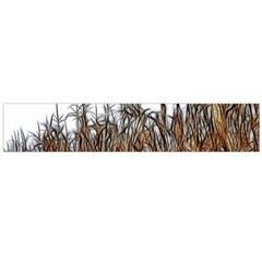 Abstract Of A Cornfield Flano Scarf (large)