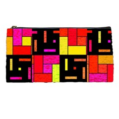 Squares And Rectangles Pencil Case