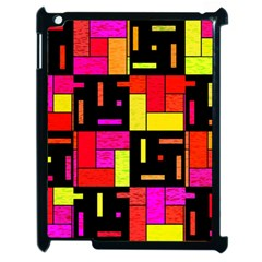 Squares And Rectangles Apple Ipad 2 Case (black)