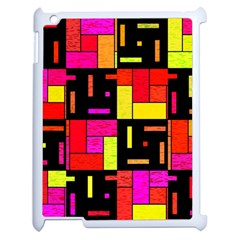 Squares And Rectangles Apple Ipad 2 Case (white)