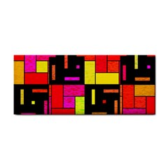 Squares And Rectangles Hand Towel
