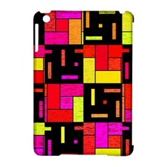 Squares And Rectangles Apple Ipad Mini Hardshell Case (compatible With Smart Cover)