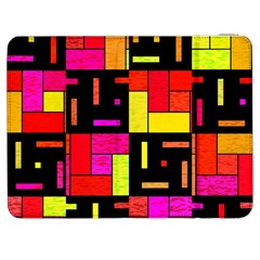 Squares And Rectangles Samsung Galaxy Tab 7  P1000 Flip Case