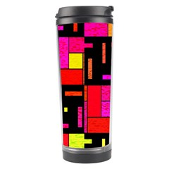 Squares And Rectangles Travel Tumbler