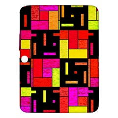 Squares And Rectangles Samsung Galaxy Tab 3 (10 1 ) P5200 Hardshell Case