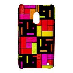 Squares And Rectangles Nokia Lumia 620 Hardshell Case
