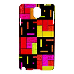 Squares and rectangles Samsung Galaxy Note 3 N9005 Hardshell Case