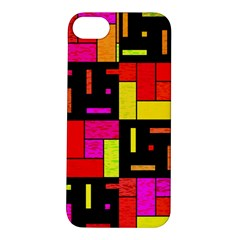 Squares And Rectangles Apple Iphone 5s Hardshell Case