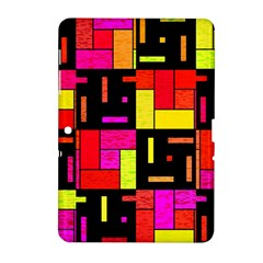 Squares and rectangles Samsung Galaxy Tab 2 (10.1 ) P5100 Hardshell Case