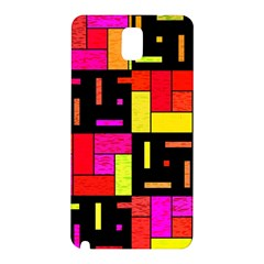 Squares and rectangles Samsung Galaxy Note 3 N9005 Hardshell Back Case