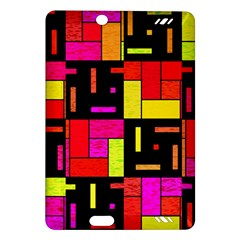 Squares and rectangles Kindle Fire HD (2013) Hardshell Case