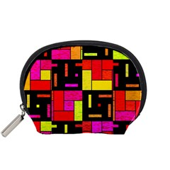 Squares And Rectangles Accessory Pouch (small)