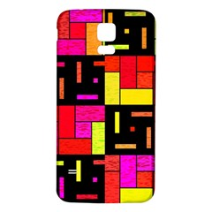 Squares And Rectangles Samsung Galaxy S5 Back Case (white)