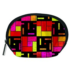 Squares and rectangles Accessory Pouch (Medium)