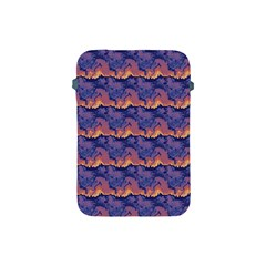 Pink Blue Waves Pattern Apple Ipad Mini Protective Soft Case