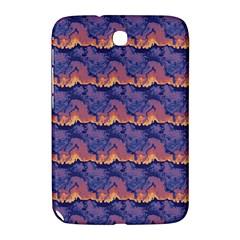 Pink Blue Waves Pattern Samsung Galaxy Note 8 0 N5100 Hardshell Case