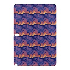 Pink blue waves pattern Samsung Galaxy Tab Pro 12.2 Hardshell Case