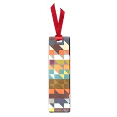 Shapes In Retro Colors Small Book Mark