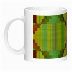 Tribal Shapes Night Luminous Mug
