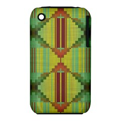 Tribal shapes Apple iPhone 3G/3GS Hardshell Case (PC+Silicone)