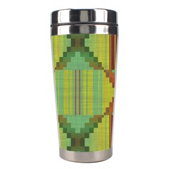 Tribal Shapes Stainless Steel Travel Tumbler
