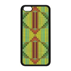 Tribal shapes Apple iPhone 5C Seamless Case (Black)