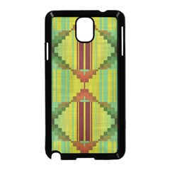 Tribal shapes Samsung Galaxy Note 3 Neo Hardshell Case (Black)