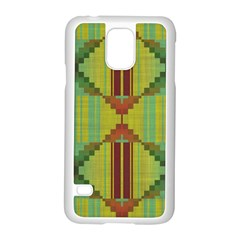 Tribal Shapes Samsung Galaxy S5 Case (white)