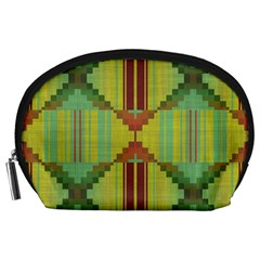 Tribal Shapes Accessory Pouch (large)