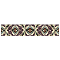 Geometric Abstract Grunge Flano Scarf (Small)