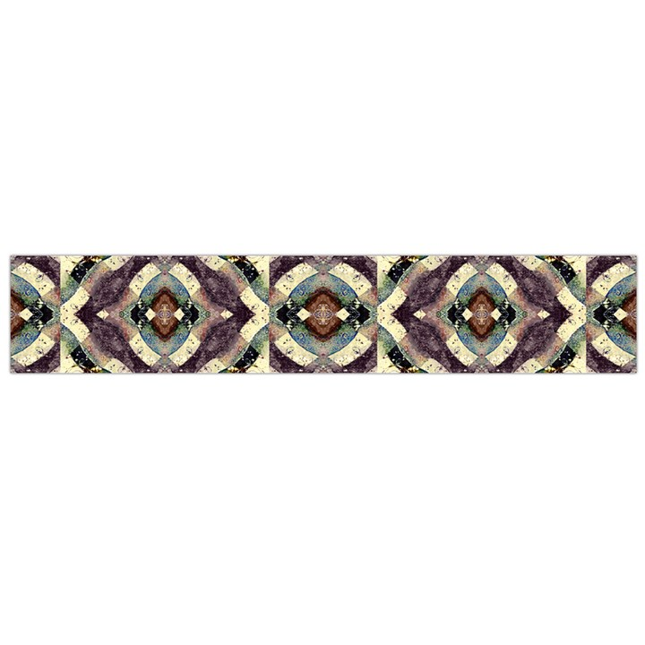 Geometric Abstract Grunge Flano Scarf (Large)