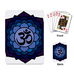Ohm Lotus 01 Playing Cards Single Design
