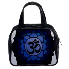 Ohm Lotus 01 Classic Handbag (two Sides)
