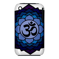Ohm Lotus 01 Apple Iphone 3g/3gs Hardshell Case (pc+silicone)