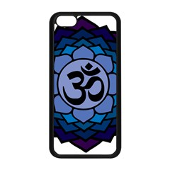 Ohm Lotus 01 Apple Iphone 5c Seamless Case (black)